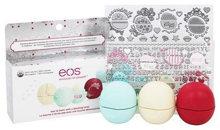Decorative Lip Balm Collection 3 Pack Limited Edition By