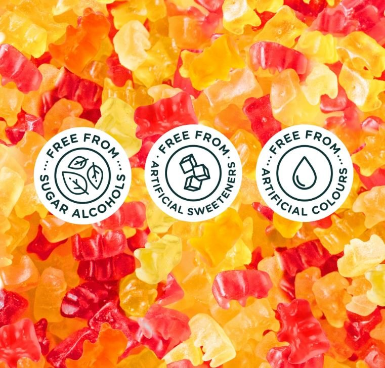Naturally Sweet Gummy Bears Seriously Sour - 1 8 oz  by